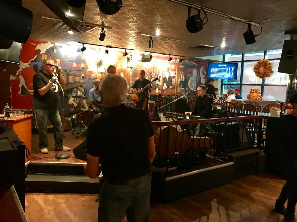 Every Saturday afternoon Halifax's Your Father's Moustache restaurant hosts Joe Murphy and the Water Street Blues Band from 4 to 8 pm. and has been for 25+ years. It reminded us of the Mike Clark band at Calgary's Mikey's on 12th or Tim Williams at Blues Can.