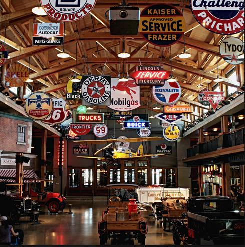 Heritage Park's Gasoline Alley