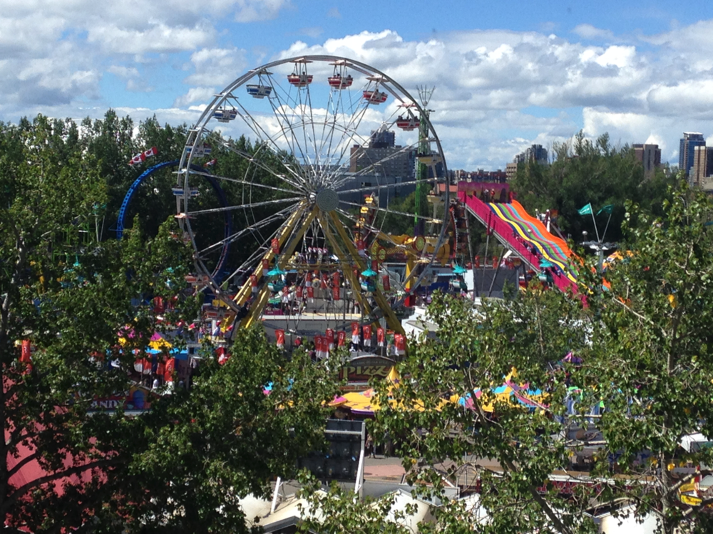 Calgary's Stampede Park is home to millions of Yahoos each summer.