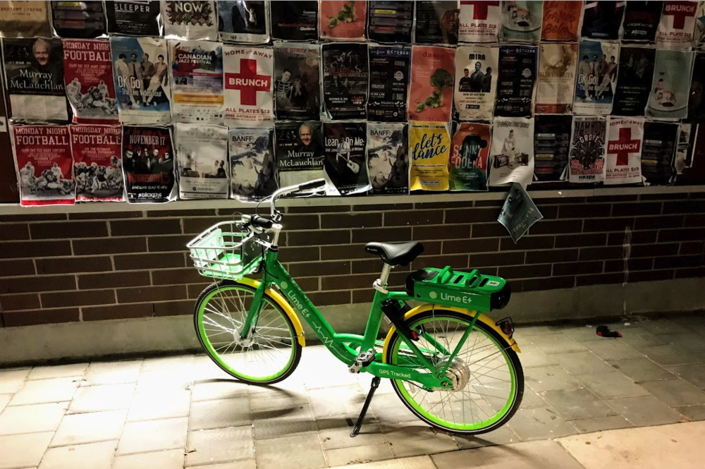 Lime Bikes set up shop in Caglary in 2018.