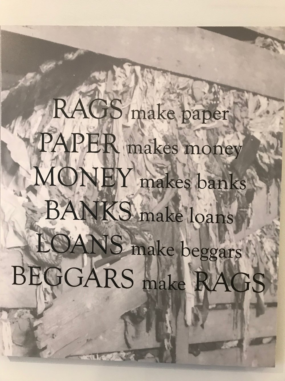 Found this in a display case at the Robert C. Williams Museum of Papermaking, on the campus of the Georgia Tech in Atlanta. If you are in Atlanta, the museum is definitely worth a visit.