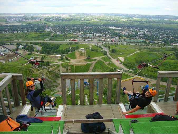 Canada Olympic Park offers some fun activities.