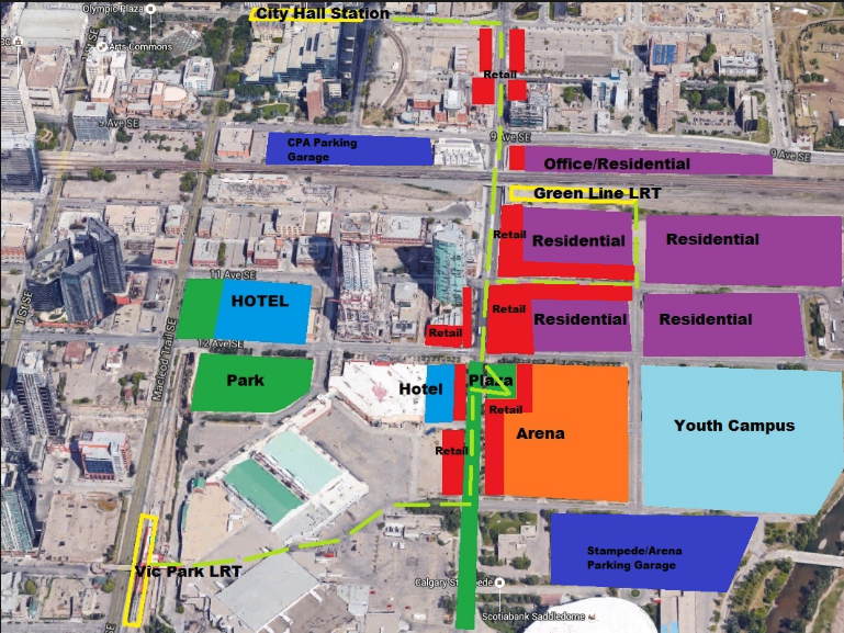 How Victoria Park and Stampede Park could evolve over the next 20 years?