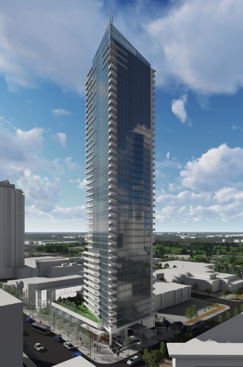 Intergulf's 45-story 11th & 11th project is under construction and will add a new dimension to urban living in the west end of the Beltline.