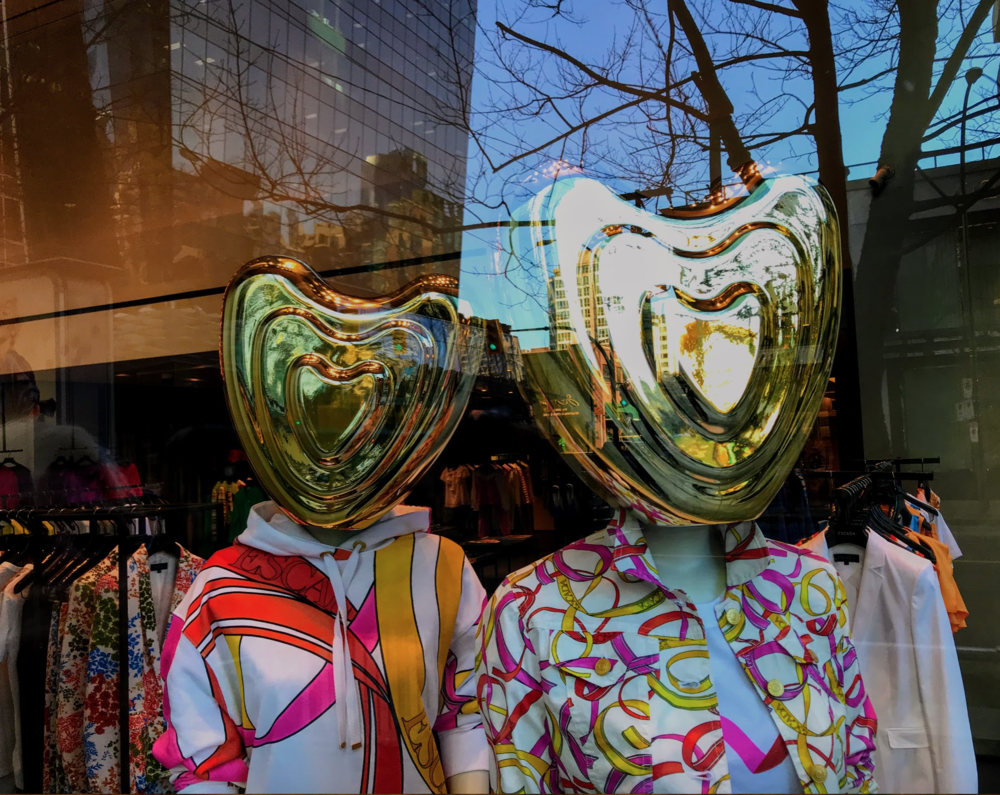 Vancouver's luxury fashion retailers have great window designers. I wish more retailers would invest in creating fun windows that make you stop and look.
