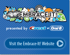 Embrace•It! at http://www.oralb.com/embraceit