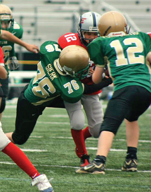 Sierk Orthodontics offers free mouthguards for all West Linn youth football players.