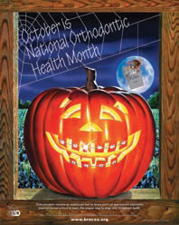 October is National Orthodontic Health Month.