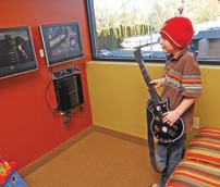 Sierk Orthodontics is prepared to keep the kids entertained in the waiting room. Photo by VERN UYETAKE