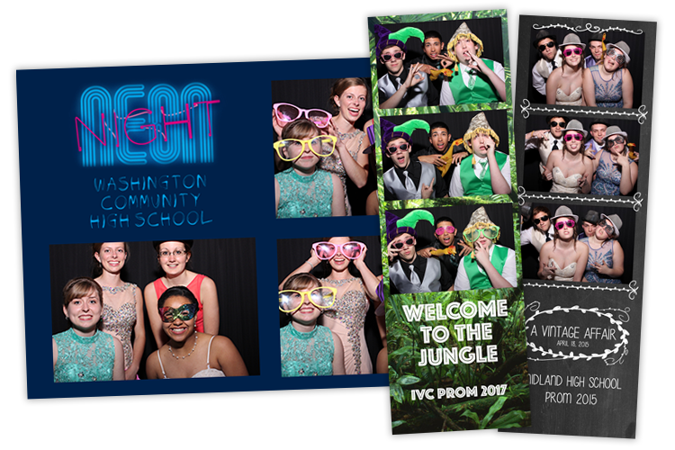 School Dance Photo Booths From DJ4U