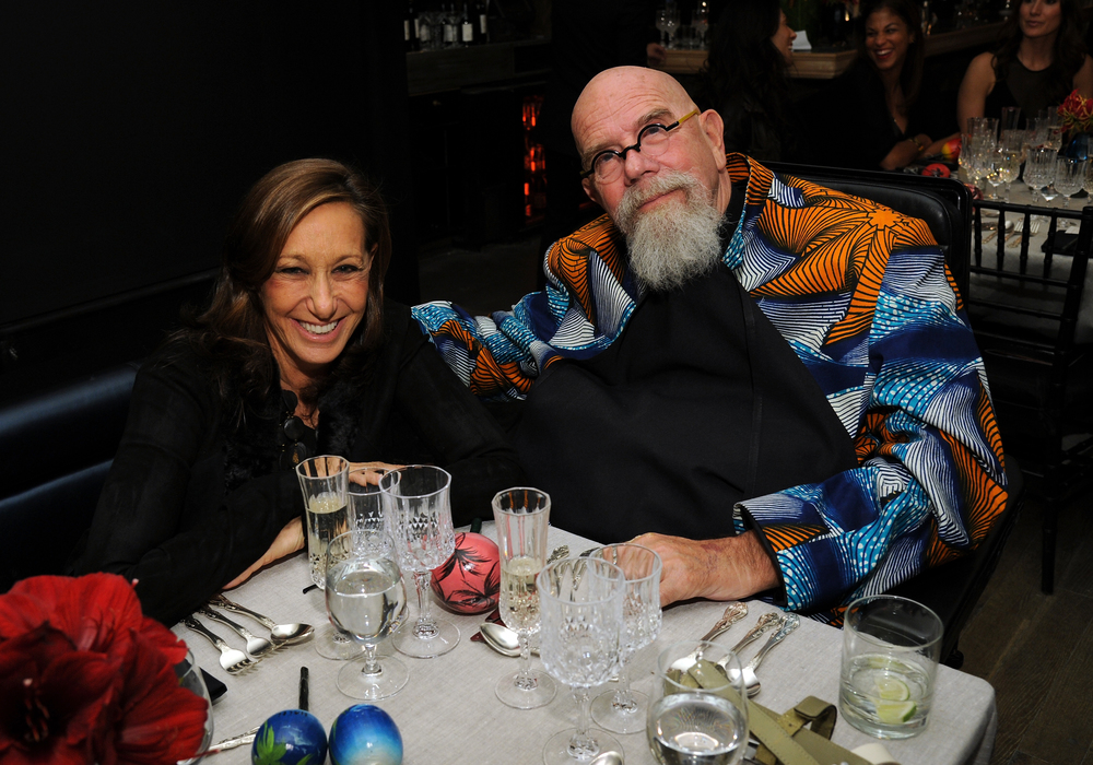 DONNA KARAN AND CHUCK CLOSE
