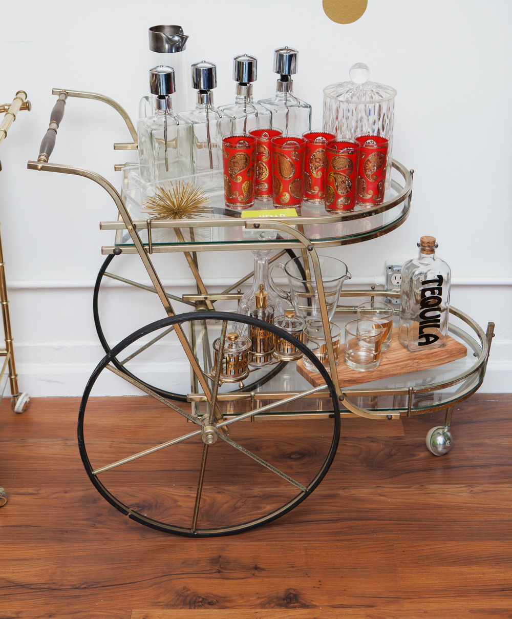 STATEMENT BAR CART