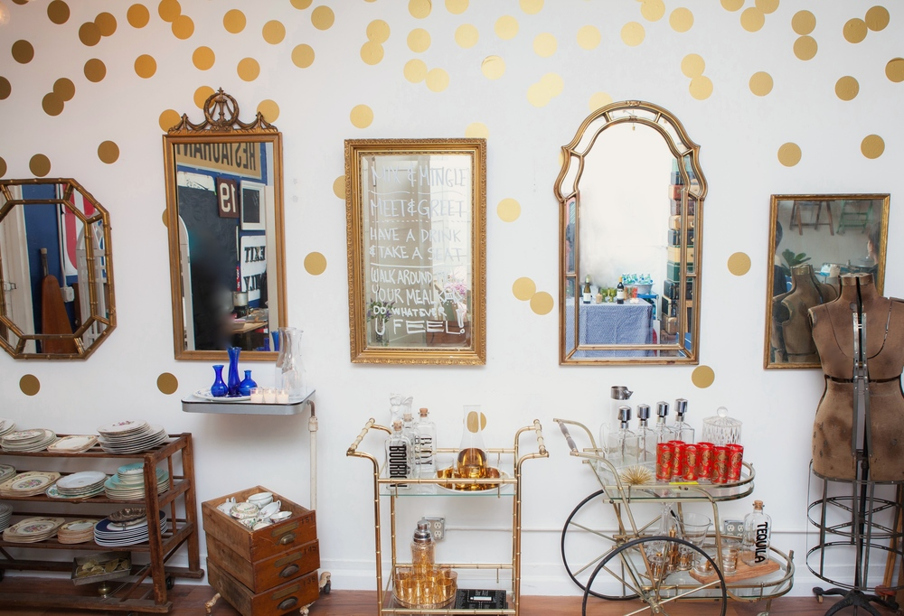 MIRRORS & BAR CARTS