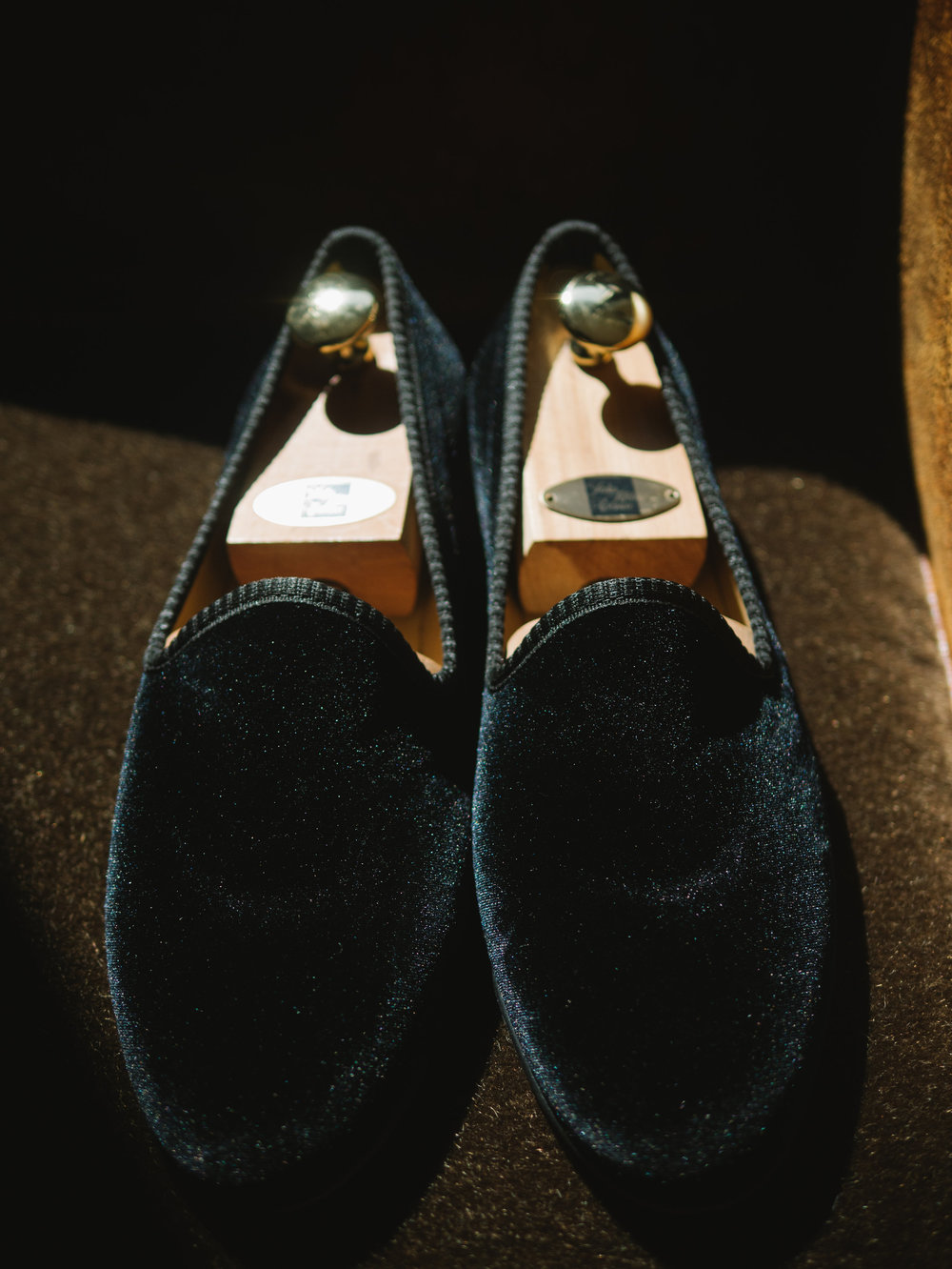 GROOM'S SUEDE WEDDING SHOES