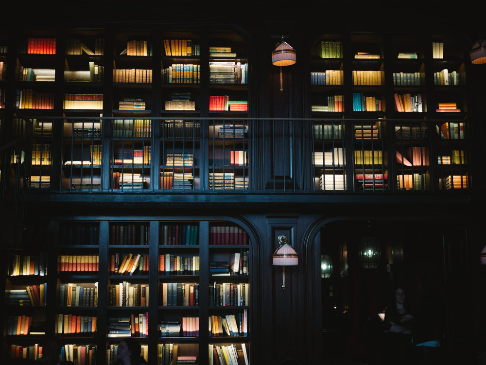 THE NOMAD LIBRARY SHELVES