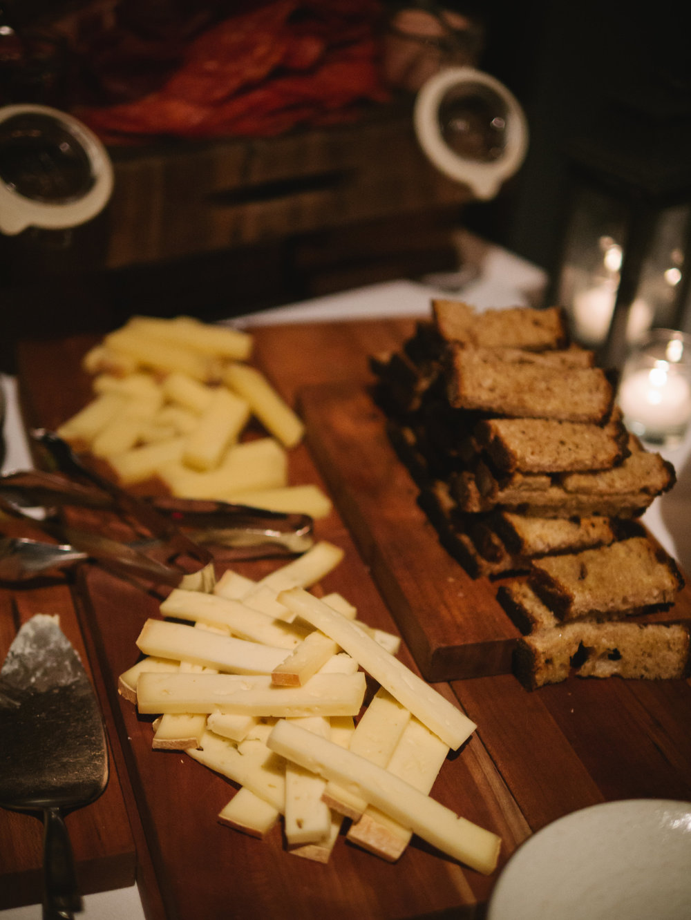 CHEESE & CHARCUTERIE STATION