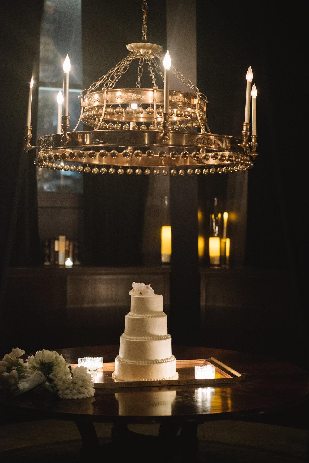 CAKE DISPLAYED IN THE CUPOLA