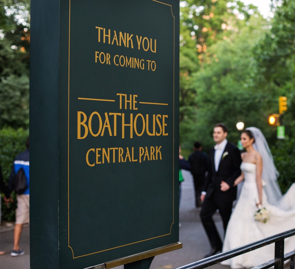 TO THE BOATHOUSE FOR THE PARTY