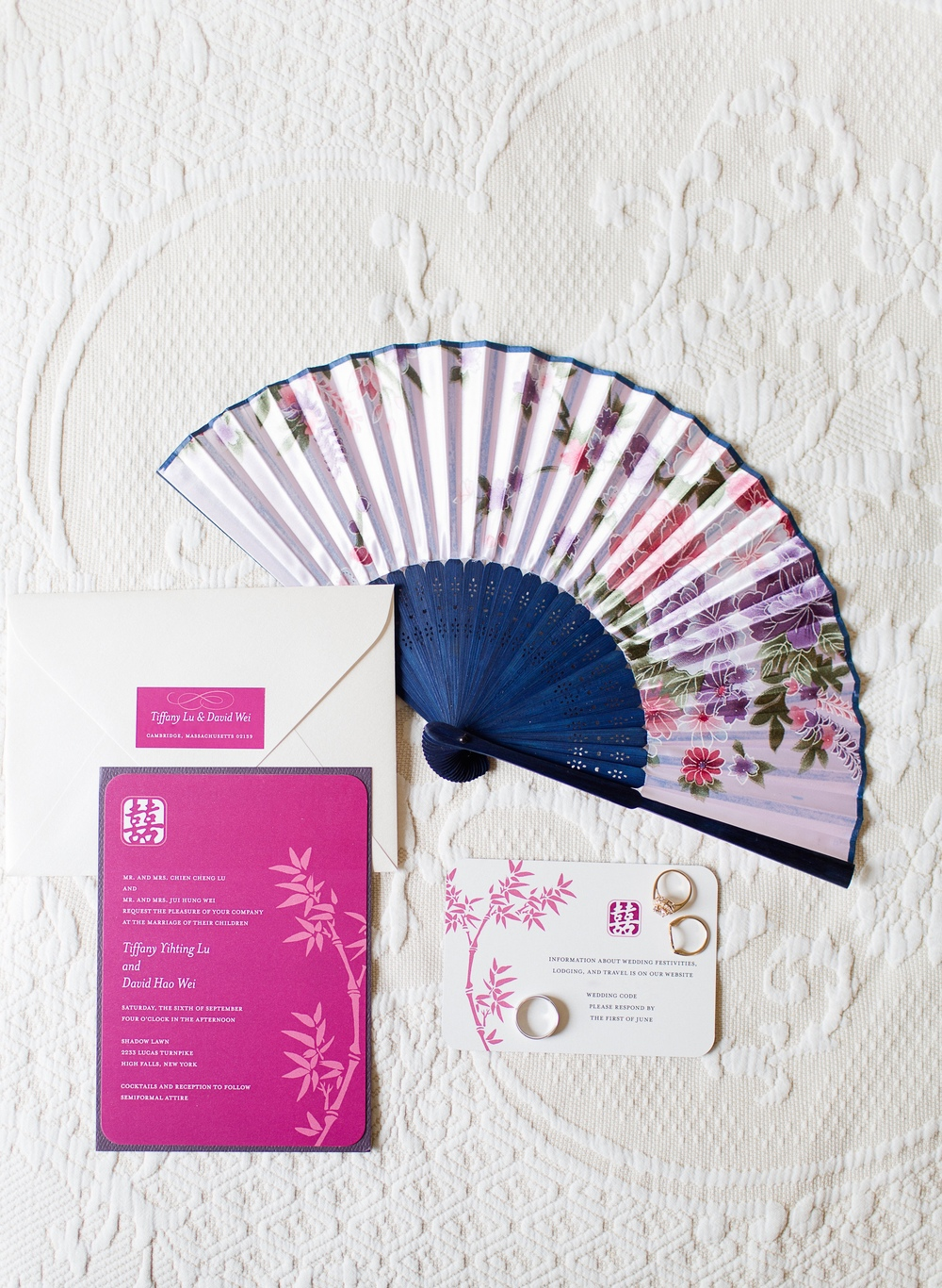 INVITATION & FAN TO KEEP COOL