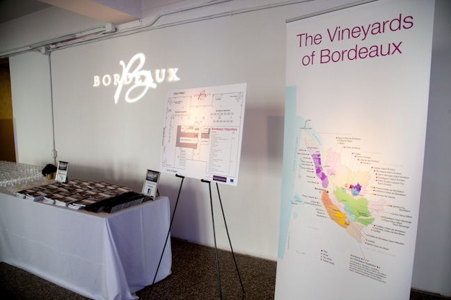 BORDEAUX VINEYARD MAP