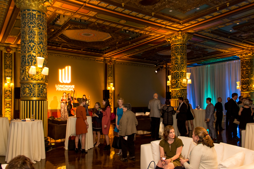 Prince George Ballroom with stunning restored details