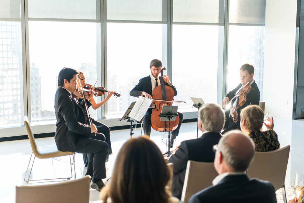 Intimate Classical music concert