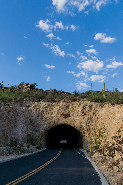 Saguaro Ranch tunnel