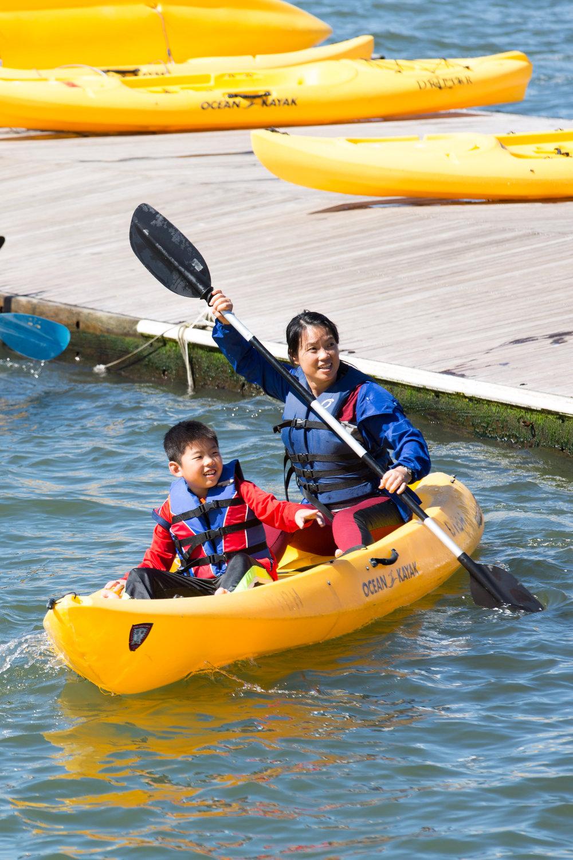Kayaking by Pier 26