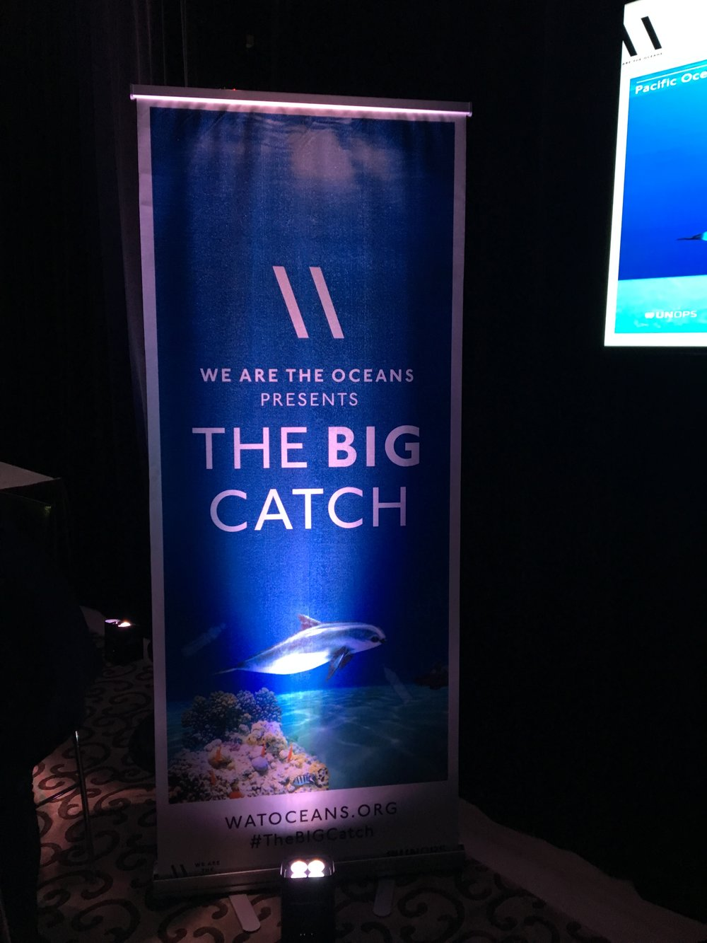 "REMOVE WASTE FROM THE OCEANS IN OCEAN GENERATION'S GAME ""THE BIG CATCH'"