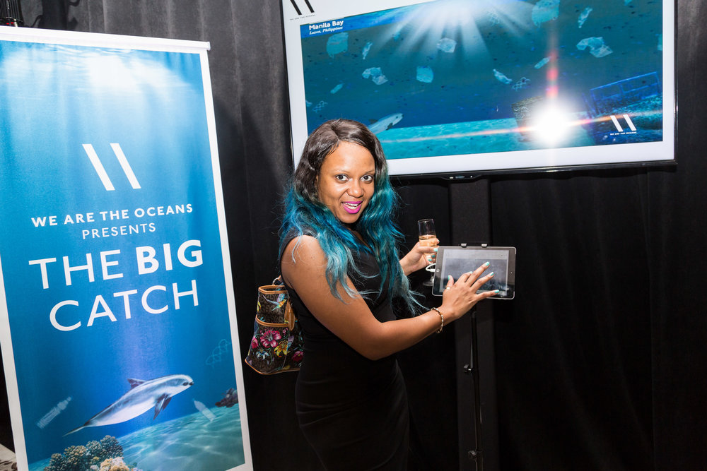 "GUEST HELPS CLEAN UP THE OCEANS IN ""THE BIG CATCH"" GAME"