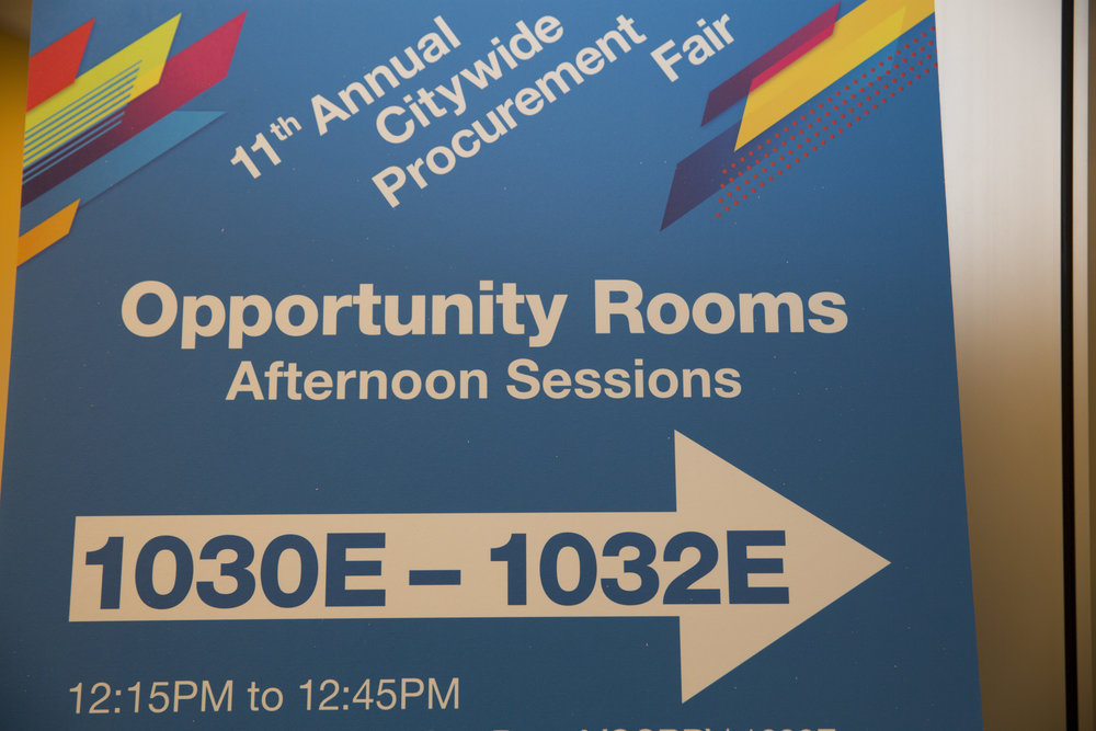 OPPORTUNITY ROOM SIGNAGE