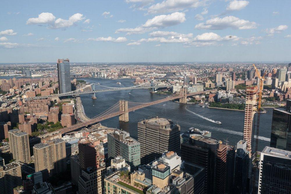 NYC Bridge views from Bay Room East