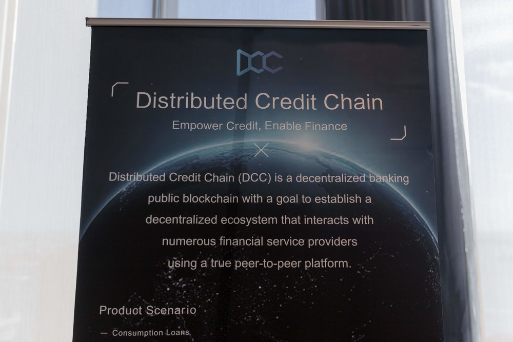 Distributed Credit Chain informational sign