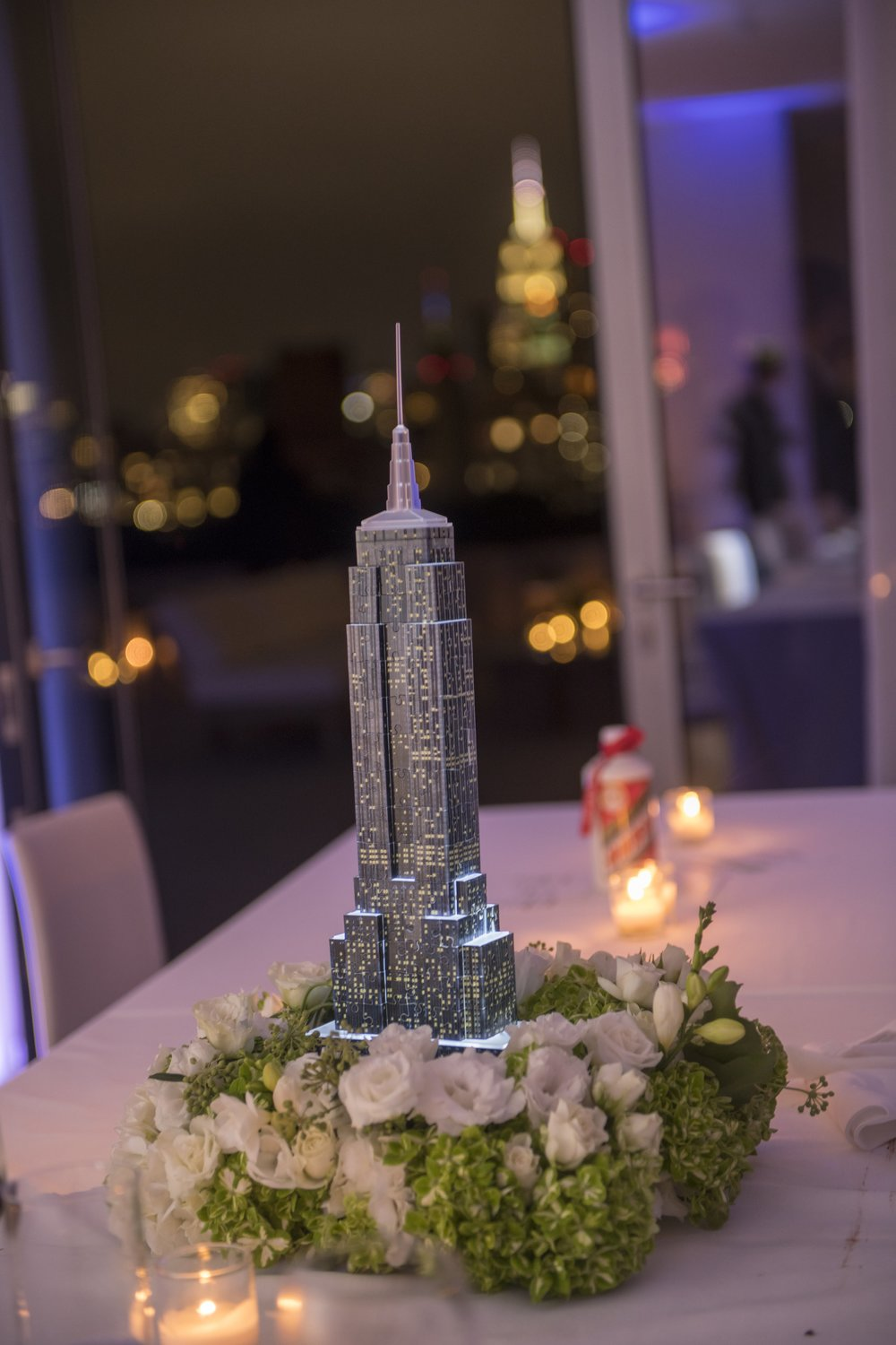 Empire State Building Centerpiece