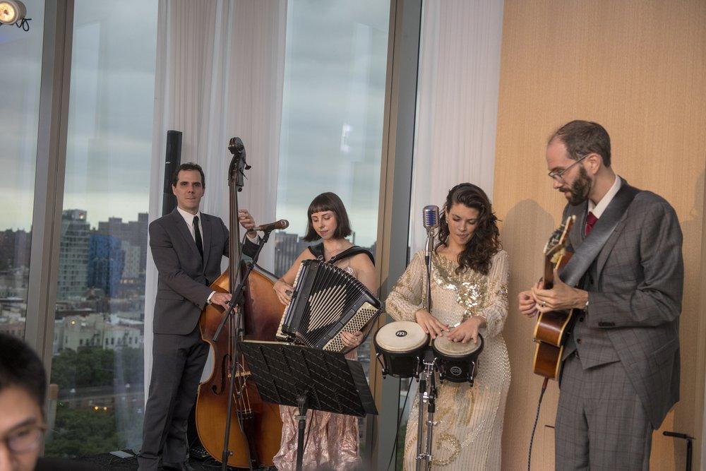 4 piece jazz ensemble