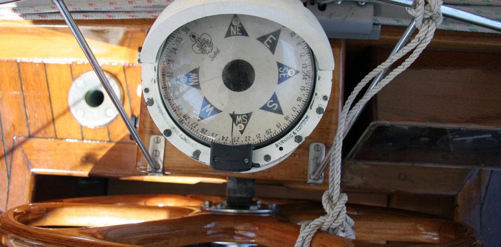 An old Sestrel compass