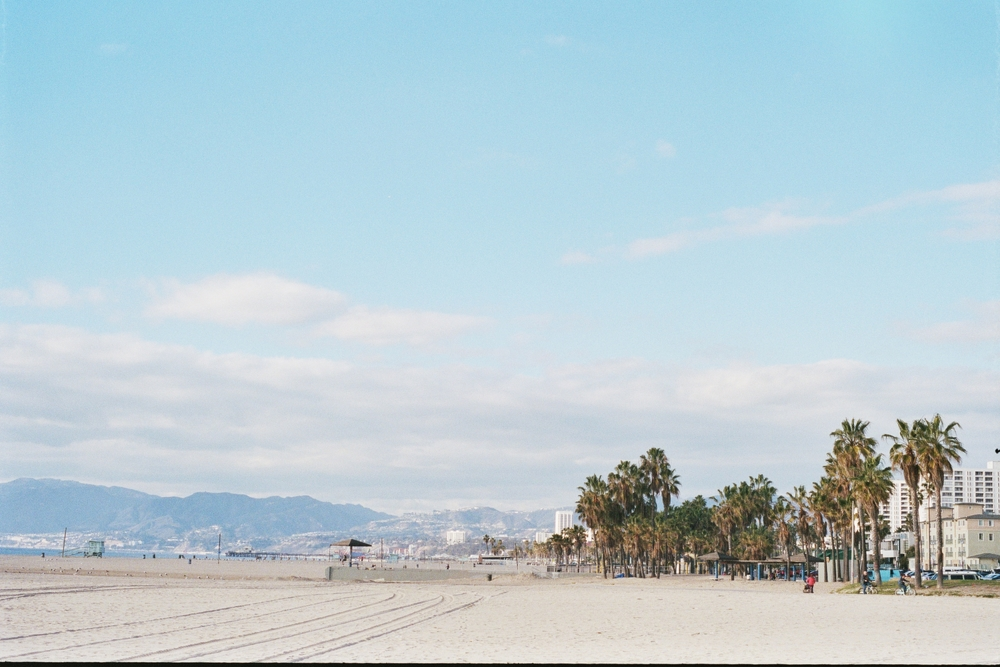 Venice Beach, taken on 35mm Portra 400 film