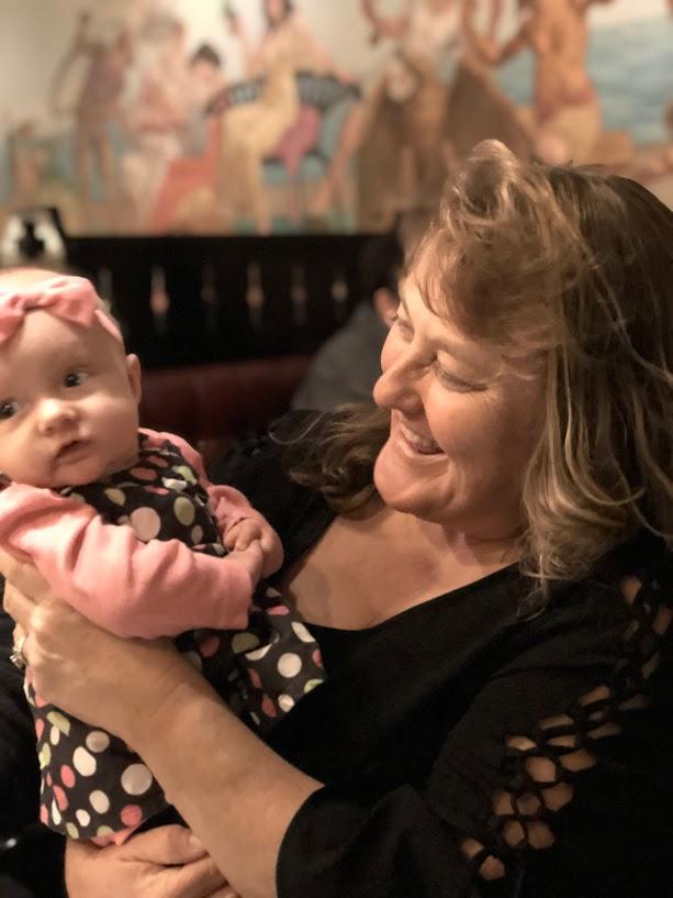 KJ meets Aunt Cindy