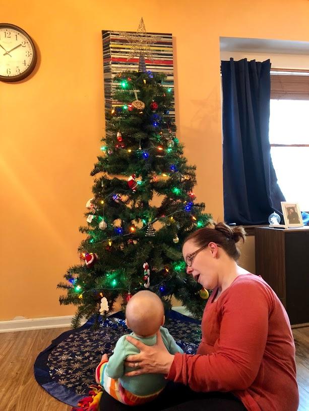 KJ's first Christmas tree