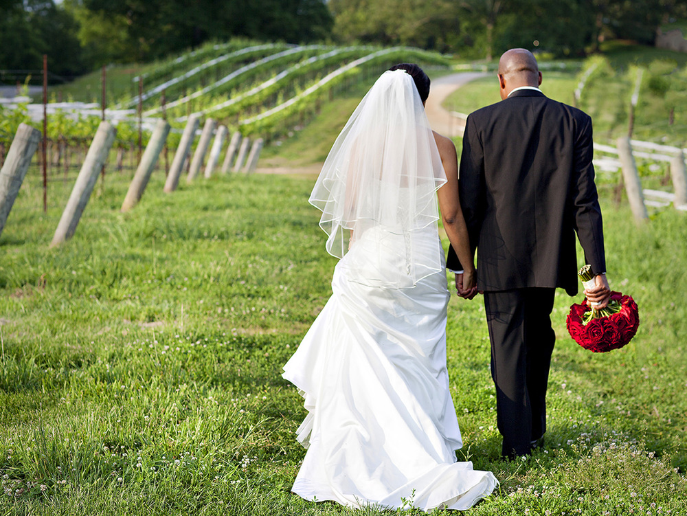 Beautiful wedding photos from Dahlonega in 2014