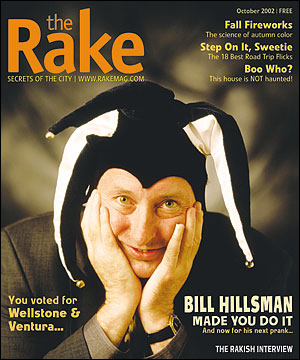 The Rake | October 2002 issue