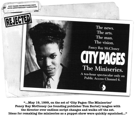 City Pages: The Miniseries