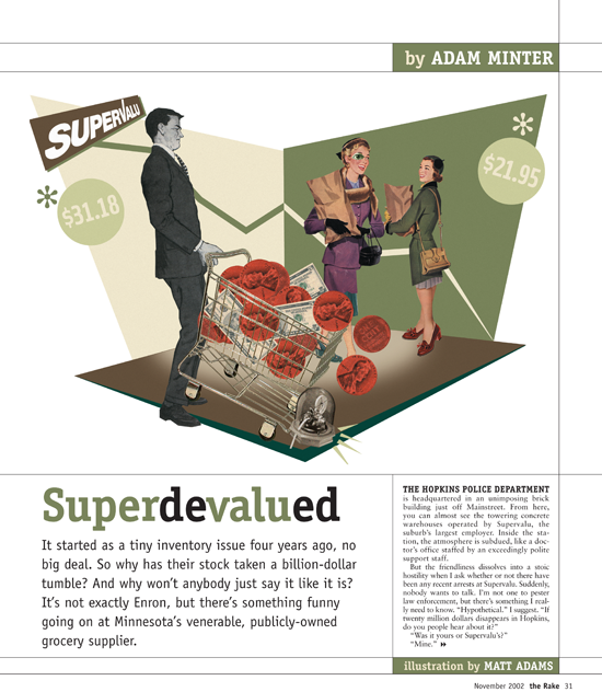 The Rake | November 2002 SuperValu story