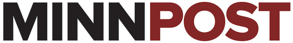 Logo redesigned using the Proxima Nova font for the February 14, 2012 relaunch of MinnPost.com