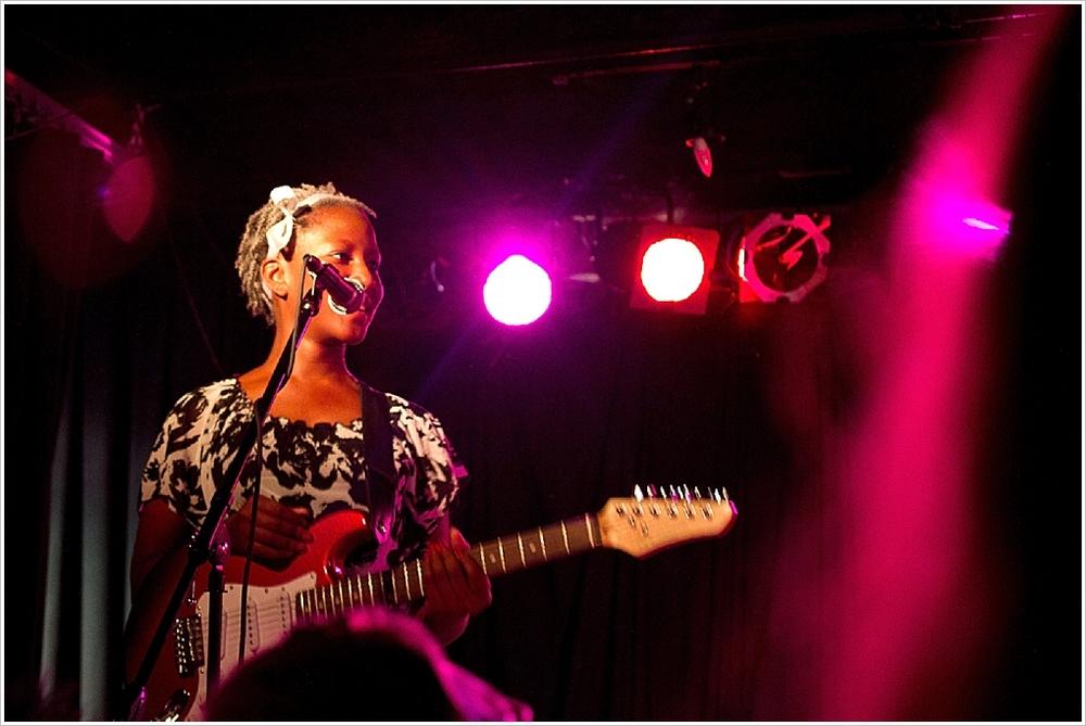 My daughter, Kesi 'Guitar' Felton