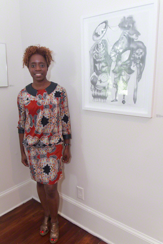 Artist Yanique Norman.