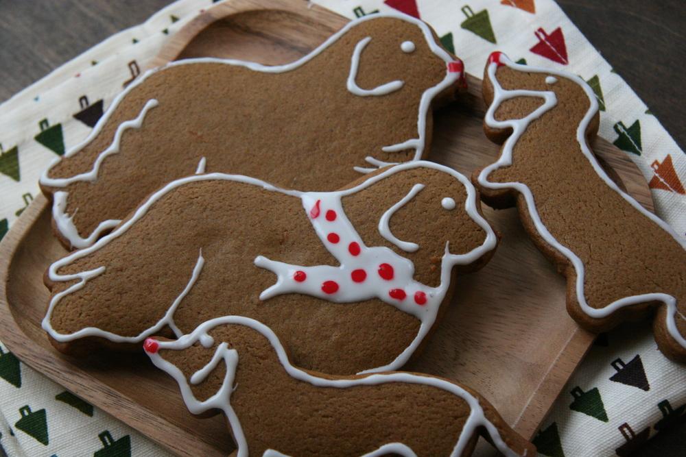 Gingerbread NewfandHound