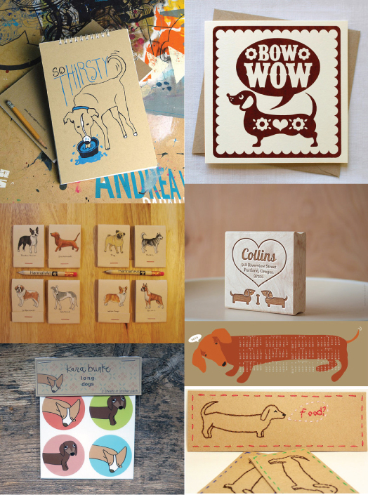 Dog Themed Stationery