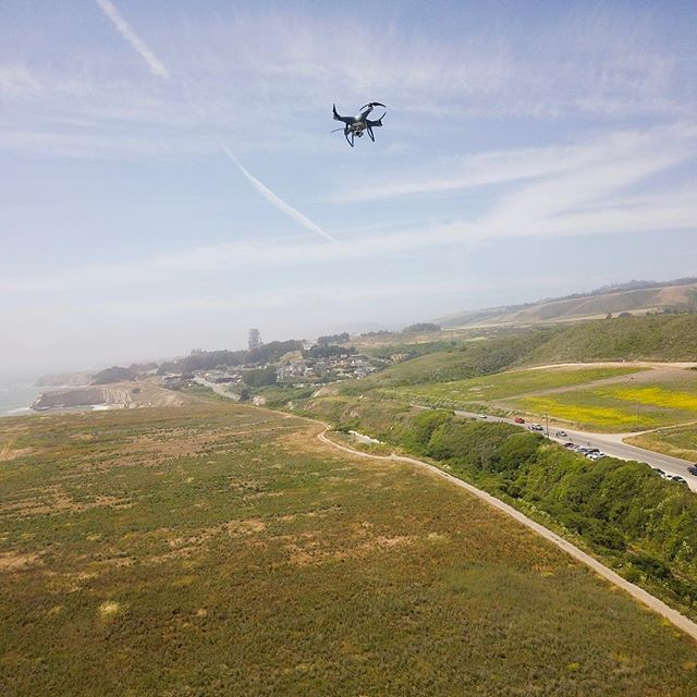 @daniiichan where did you go?! #droneselfie