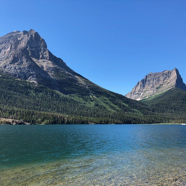 Spent an amazing, yet relaxing, weekend in #montana but the highlight was definitely hiking in to go fishing with family and friends in #glaciernationalpark the beauty, stillness, and views can't be beat!